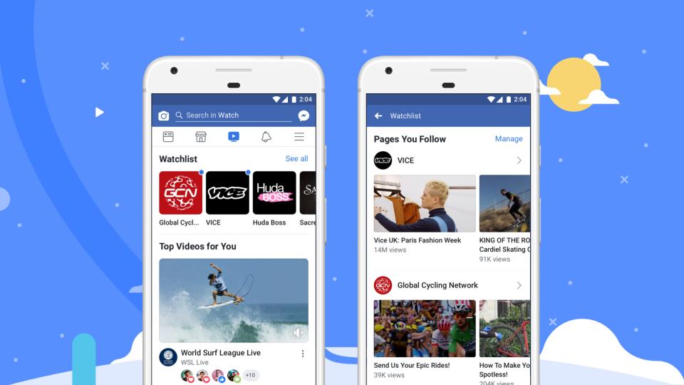Watch, la tv di Facebook, diventa globale e arriva anche in Italia