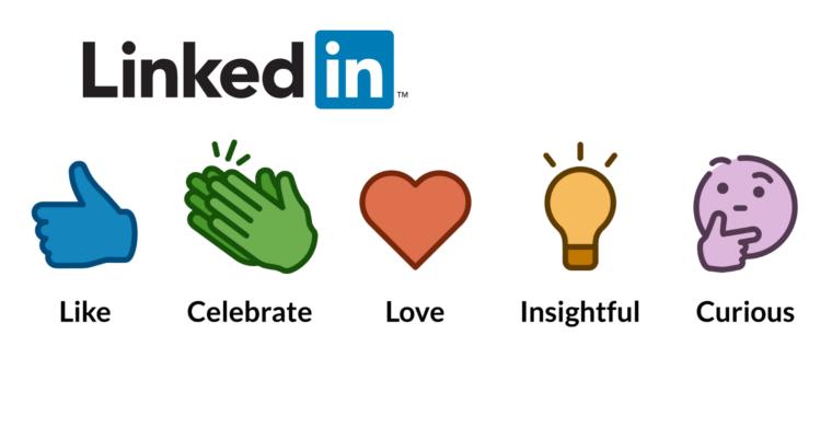 Se anche LinkedIn adotta le reactions