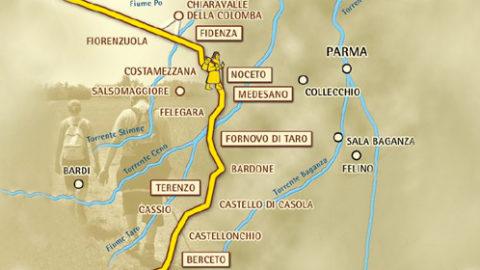 Benvenuto Pellegrino: SwitchUp sviluppa un'app per valorizzare la Via Francigena parmense