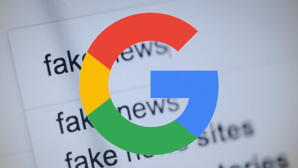La controffensiva di Google verso le fake news