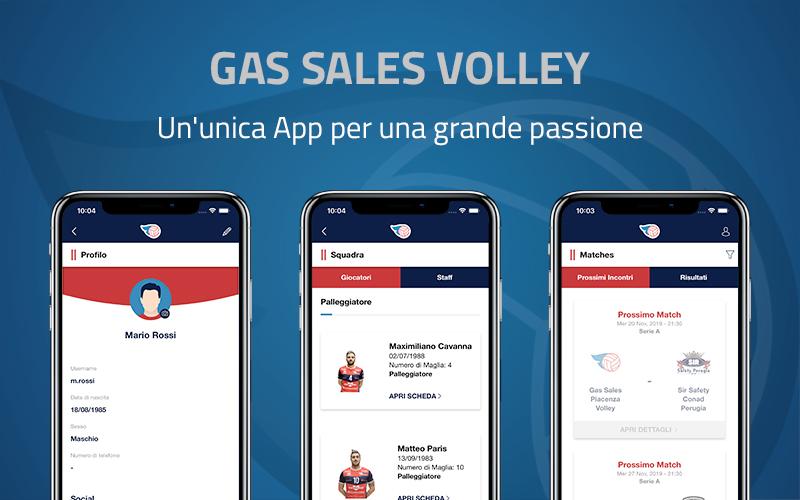 App Gas Sales Piacenza