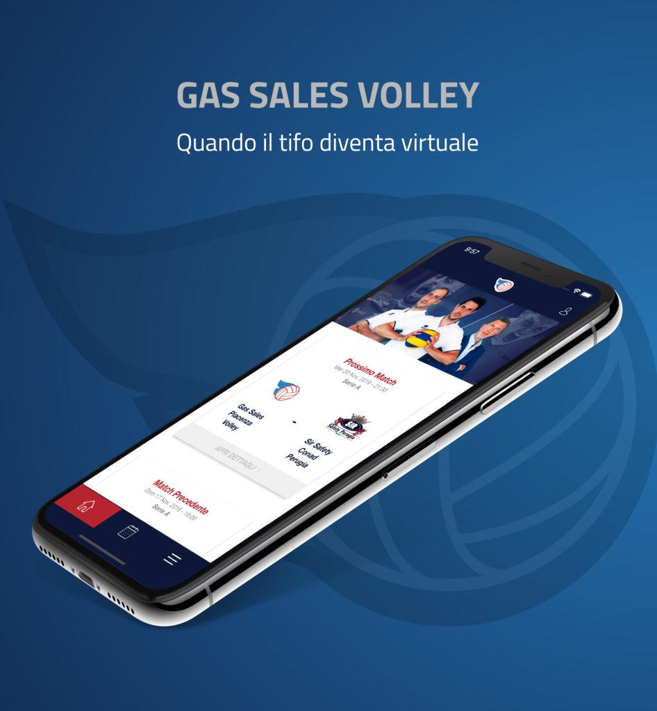 App Gas Sales Volley